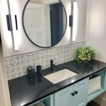 Cambria Black Vanity Countertop