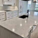 Cambria Swanbridge Kitchen Island