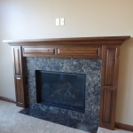 Cambria Laneshaw fireplace surround