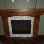 Cambria Bellingham Fireplace surround