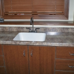 Butter Rum Granite Laminate Laundry