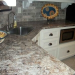 180fx Laminate - Antique Mascarello Wet Bar