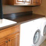 Formica Laminate Laundry Room