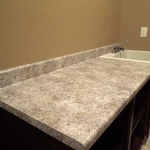 Formica Belmonte Granite with Waterfall Edge
