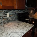 Random Mosiac Backsplash