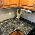 3x6 Gray Subway Tile Backsplash