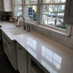 3x6 White Glossy Subway Tile backsplash