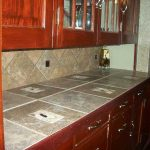 Daltile - Castle De Verre Regal Rouge 6x6 glass accent and 10x13 Broken Mosaic