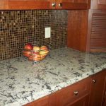 Trends Glass - Bronze 1x1 Mosaic backsplash