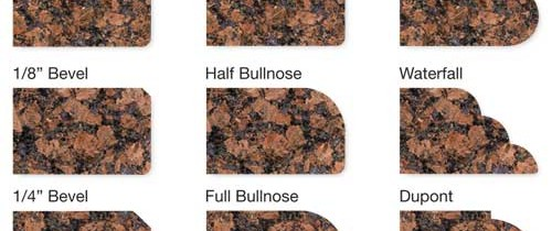 Granite Edge Profiles