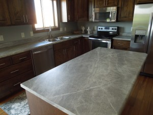 Formica 180fx - Soapstone Sequoia kitchen island and perimeter